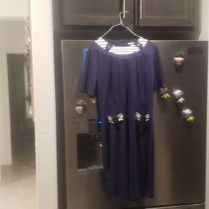 A womens' Navy blue dress